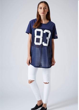 top oversized mesh american apparel topshop jersey football tshirt cute dope wishist