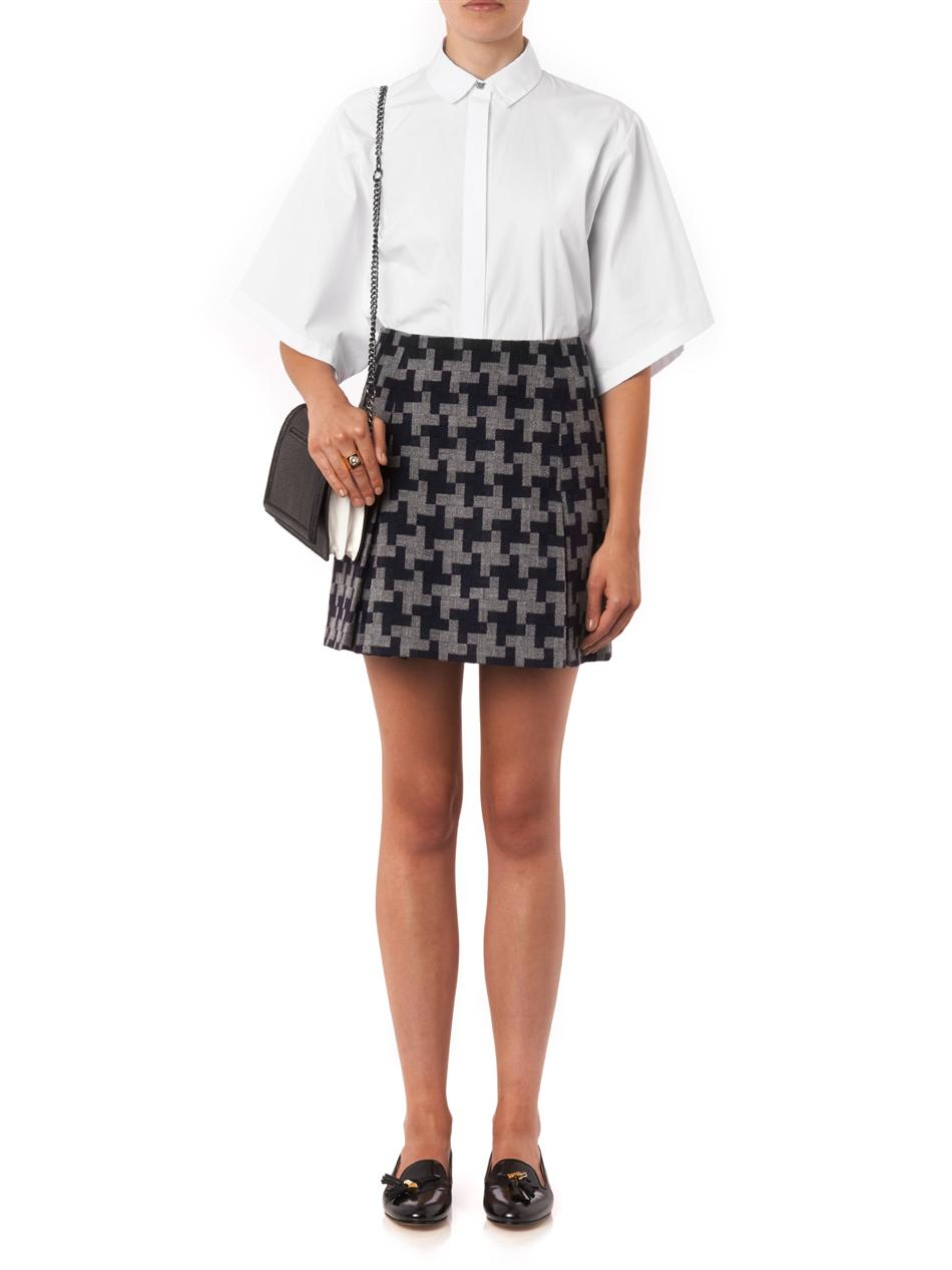 Fire-button cotton-poplin shirt | Kenzo | MATCHESFASHION.COM