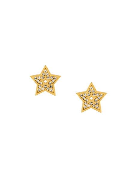Astley Clarke mini women earrings stud earrings gold yellow orange jewels