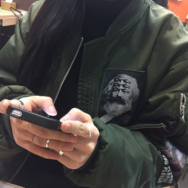 Plus Size Army Green Jacket