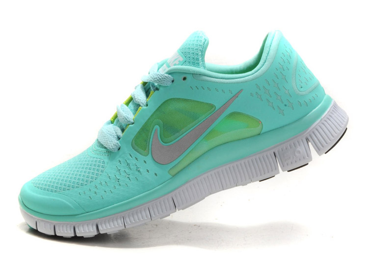QID172 Womens Nike Free Run 3 Teal Green Running Shoes - $76.00