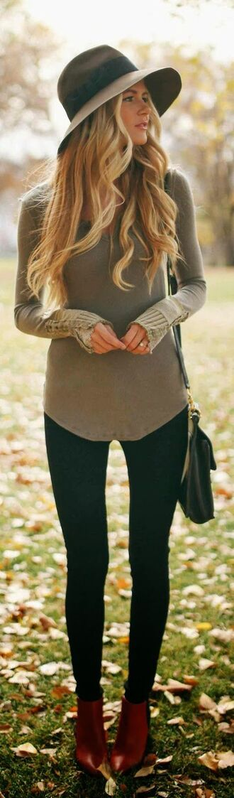 casual bag sweater