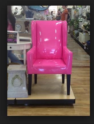 bag pink chair furniture chair
