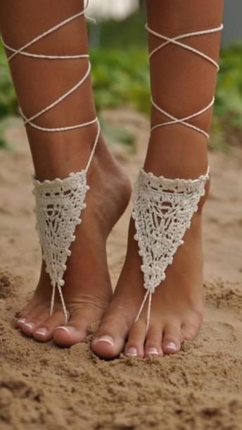 shoes boho accessory