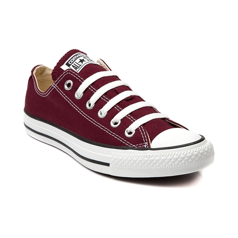 Converse All Star Lo Sneaker, Maroon, at Journeys Shoes
