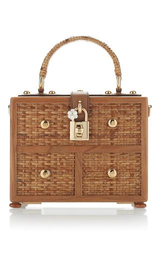Wicker Box Bag   Moda Operandi