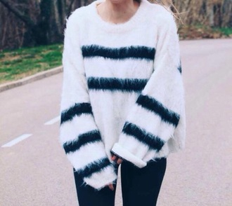 sweater love cool jumpsuit white blouse fashion