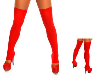 tights opaque tights tight skirt over the knee socks spandex lycra elastic red leggings over the knee