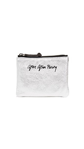 Rebecca Minkoff pouch silver bag