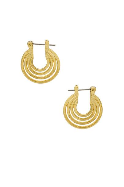 Luv Aj statement earrings statement earrings metallic gold jewels