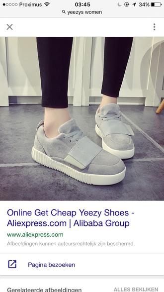 shoes yeezy kanye west grey
