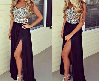 prom luxury glitter dress