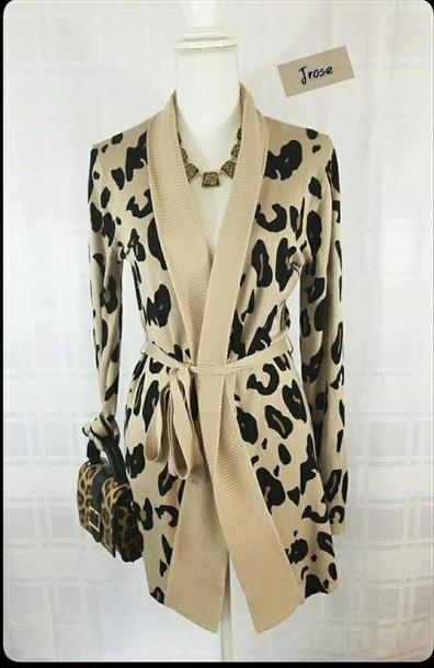 sweater leopard print