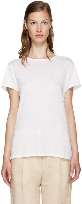 t-shirt shirt classic white off-white top