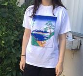 shirt,japanese fashion,painting class