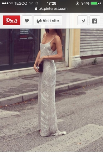 dress silver formal prom beautiful girl clothes help i need this exact dress!