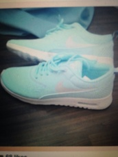shoes,nike,mint,white,air max,nike air max 90,light blue