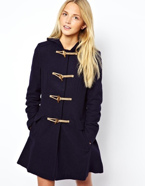 ASOS Hooded Duffle Coat at ASOS