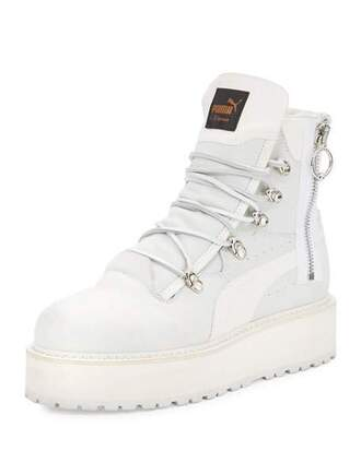 shoes puma boots platform boots