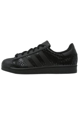 adidas Originals SUPERSTAR - Trainers - core black - Zalando.co.uk