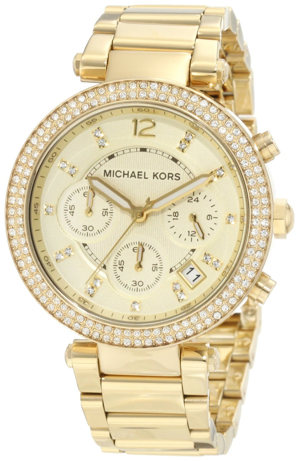 Amazon.com: Michael Kors Women's MK5354 Parker Gold Watch: Michael Kors: Watches