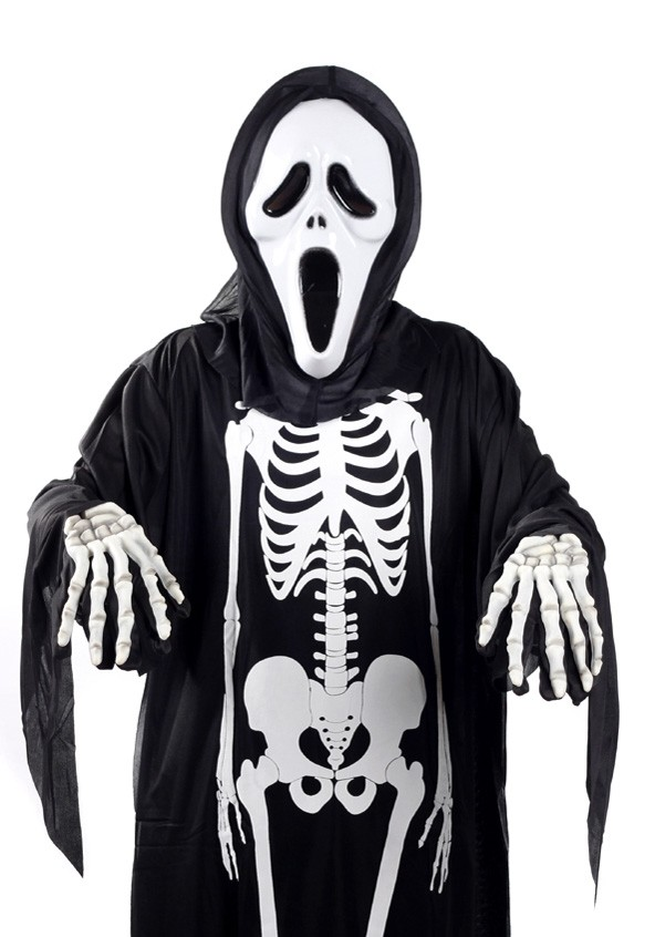 Spooky Skeleton Walking to You Cover-Up
