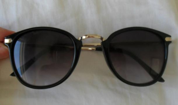 Gold Sunglasses Sunglasses Black Gold Black