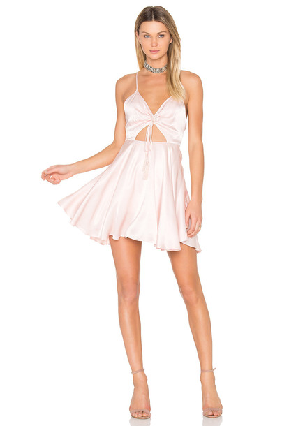 Finders Keepers dress mini dress mini pink