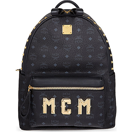 MCM - Logo lettering medium backpack | Selfridges.com