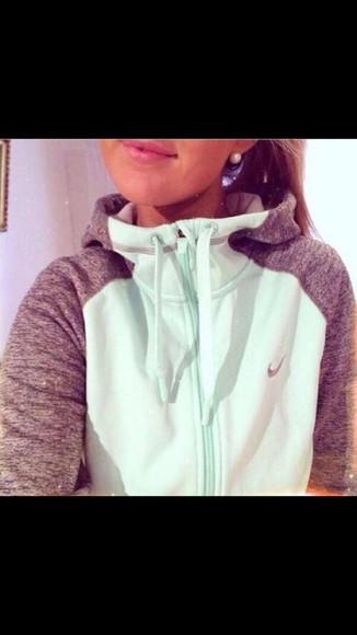 turquoise jacket sportswear cute sweaters warm