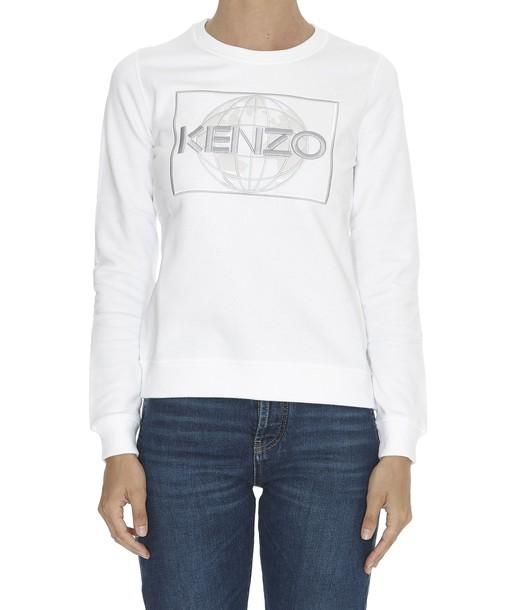 Kenzo sweatshirt classic white sweater