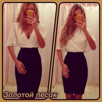little black dress white dress