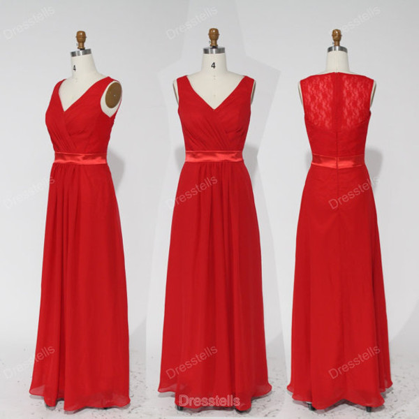 dress bridesmaid bridesmaid bridesmaid red bridesmaid dress