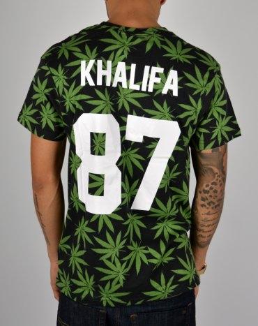Eleven Paris x Les (Art)ists Khalifa Weed T-shirt - Black