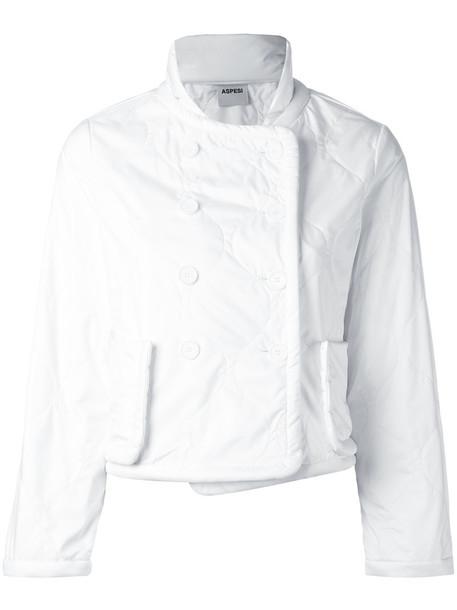 ASPESI jacket women white
