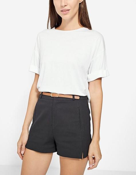 shorts dressy black