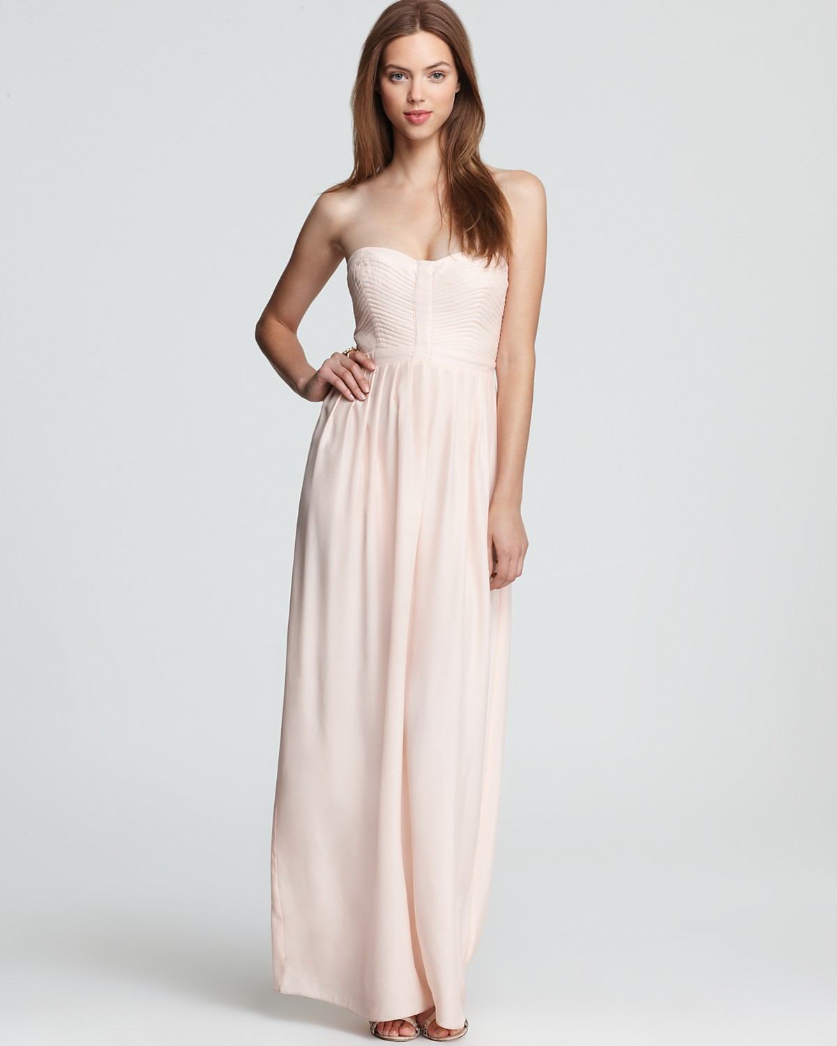 Parker Long Dress - Bayou | Bloomingdale's