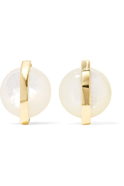 Ippolita pearl earrings pearl earrings gold jewels
