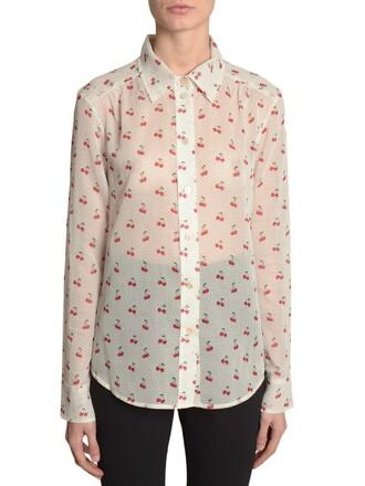 shirt fantasy print top