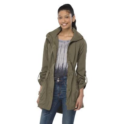 Junior's Anorak Jacket Green