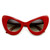 Retro Mod Super Trendy Womens Fashion Cat Eye Sunglasses 9233                           | zeroUV