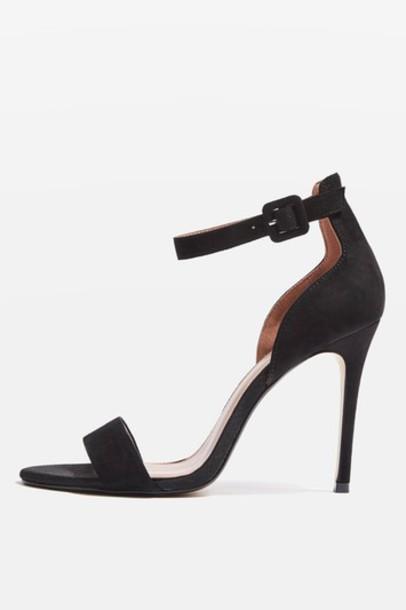 Topshop sandals black shoes