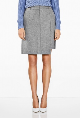 Acne | Clio Wool Straight Skirt by Acne