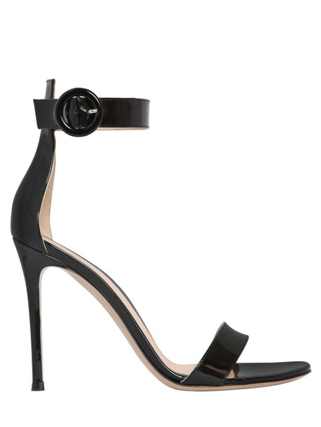Gianvito Rossi sandals leather sandals leather black shoes