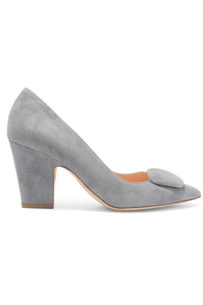 Rupert Sanderson suede pumps pumps suede shoes