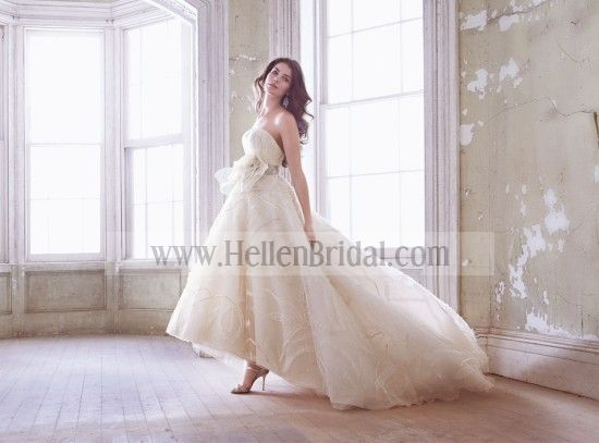 Top Quality Jim Hjelm Jh8320 Wedding Dresses With Affordable Price in Hellenbridal.com