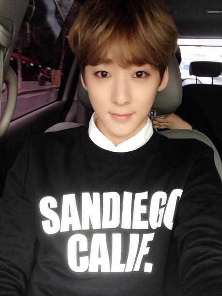 sweater black white san diego california overwear