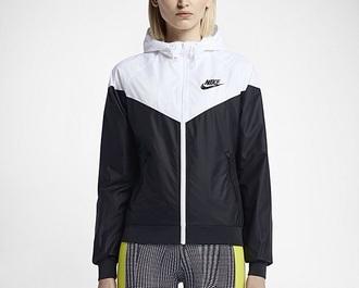 jacket nike jacket black jacket