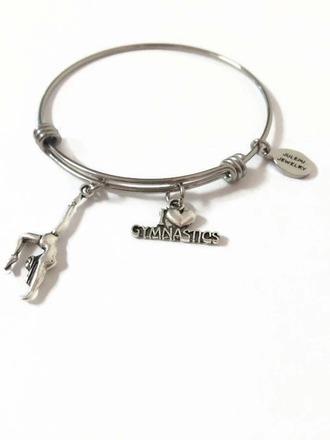 jewels gym bracelets metallic