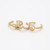 Peace Knuckle Ring Set